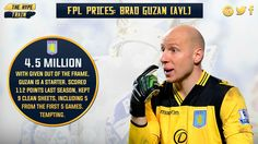With (bou, MUN, cry SUN, lei, WBA) in the first six, a tight Villa could mean Guzan has at least rotation potential.