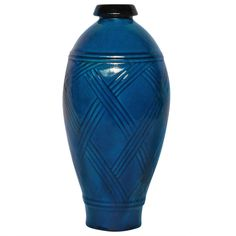 Art Deco  Vase. glazed ceramic. Excellent condition. French. c1930