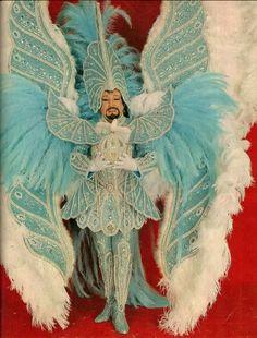 Showgirl Costume, Samba Costume, Showgirls, Aqua, Costumes, Painting, 1950s, Search, Men