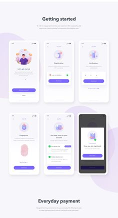 Finance Mobile App UI UX on Behance The Effective Pictures We Offer You About clean App Design A quality picture can tell you many things. Ios App Design, Mobile Ui Design, Android App Design, Desing App, Menu Mobile, Mobile App Ui, Dashboard Mobile, Mobile Mobile, Android Ui