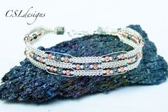 In this tutorial I show you how to make my regal wirework macrame bracelet. Please feel free to give it a go yourself and I hope you enjoy. 6 step bail makin...