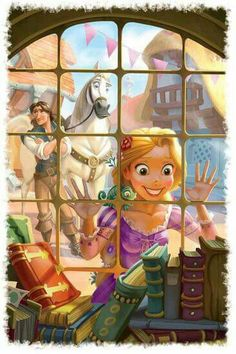 From Rapunzel Book
