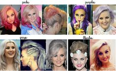 Little Mix: hair inspiration! wow can that girl look bad in anything?(i think not)