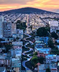 Lombard Street: I Left My Heart  in San Francisco | California Feelings