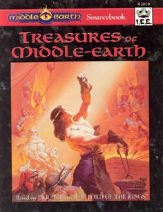 Product Line: Middle Earth Roleplaying  Product Edition: M2  Product Name: Treasures of Middle-Earth  Product Type: Sourcebook / Other 2nd Ed  Author: Wolfgang Baur  Stock #: 2010  ISBN: 1-55806-211-4  Publisher: ICE  Cover Price: $20.00  Page Count: 208  Format: Softcover  Release Date: 1994  Language: English