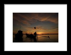 Koh Tao Island In Thailand By Tamara Sushko Framed Print featuring the photograph Sunrise On Koh Tao Island In Thailand by Tamara Sushko