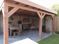 Pergola For Sale Lowes Key: 1845672438 Garden Room, Pergola With Roof, Outside Living, Cottage Garden, Outdoor Rooms, Summer House, Garden Buildings, Pool Houses, Outdoor Kitchen
