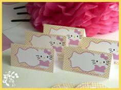carteles personalizados hello Kitty
