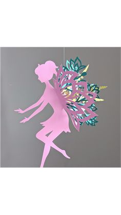 Flower Garden Fairy - Video tutorial now available. See Supplies for link. INSTAGRAM @chaivdesign
