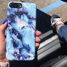 Marble Case for iPhone 7 Plus - Geode Purple - Elemental Cases - iPhone 7 Plus - 1