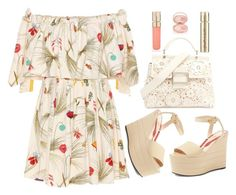 """Bring Me Summer"" by fashionqueen14871 ❤ liked on Polyvore featuring Fendi, Roger Vivier, Gucci, Smith & Cult, By Terry, Summer, floral, Wedges and bringmesummer"