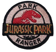 Details about Jurassic Park Movie Logo Embroidered Iron-On Deluxe Patch Yellow New Patch Jurassic Park Movie Logo Park Ranger Embroidered 3 Patch Pin And Patches, Iron On Patches, Jacket Patches, Punk Patches, Jurassic World Park, Estilo Grunge, Cute Pins, Up Girl, Stickers