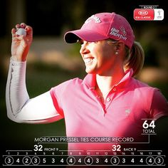 #LPGAHotRound with @mpressel during the 2nd round of the #KiaClassic