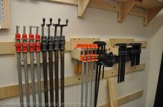 French Cleat Garage Storage System - by Adam_MSS on mobilesoundscience.com