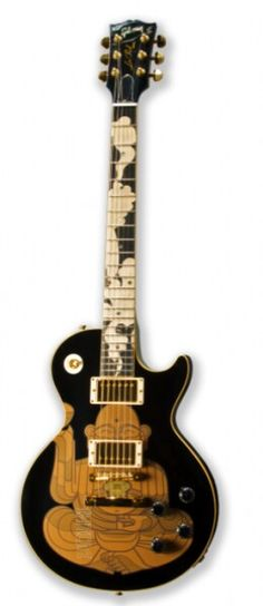 #Buddha on a Les Paul #Guitar http://ozmusicreviews.com/music-promotions-and-discounts