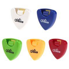 Alice Selección de la Guitarra Titular Caso de 1 unidades de Color Al Azar