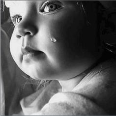 Communication - that's what a baby's crying is for. This sweet thing that suddenly turn into a fit of tears is just craving for your sweeter attention. Beautiful Children, Beautiful Babies, Beautiful People, Cute Kids, Cute Babies, Tears Of Sadness, Portraits, My Heart Is Breaking, Colorful Pictures