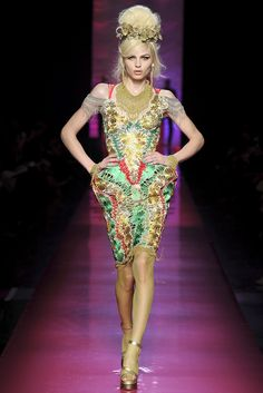 Jean Paul Gaultier spring 2012 couture collection. See more: #JeanPaulGaultierAtFip, #FashionInPics