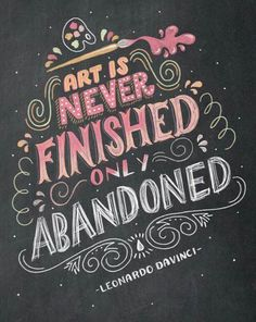 30 Creative Chalk Typography Artwork for Inspiration Chalk Typography, Creative Typography, Typography Letters, Types Of Lettering, Brush Lettering, Lettering Design, Quote Design, Art Quotes, Inspirational Quotes