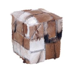Borough Wharf Zanzibar Cube Stool