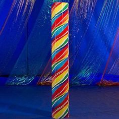 SWIRL LOLLIPOP OCTAGON COLUMN * candy land theme party * candy * sweets * column #Unbranded #variousparties