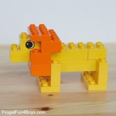 LEGO Duplo Animals to Build - Frugal Fun For Boys and Girls - LEGO Duplo Animals to Build Sie sind an der richtigen Stelle für healthy desserts Hier bieten wir - Lego Design, Lego Poster, Lego Duplo Animals, Lego Therapy, Construction Lego, Lego Challenge, Lego Club, Lego Craft, Lego Blocks