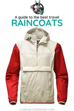 Rain, rain, go away! But if it won't, here we have found you best lightweight rain jacket for travel! Best Lightweight Rain Jacket, Best Rain Jacket, Best Vacation Spots, Best Vacations, Travel Raincoat, Rain Jackets, The Donkey, Travel Reviews, Travel Shoes