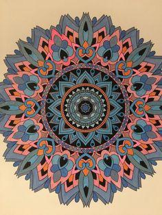 ColorIt Mandalas Volume 1 Colorist: Pat McKenna #adultcoloring #coloringforadults #mandalas #mandalastocolor