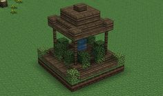 Small, Wood Fountain Minecraft Project