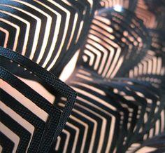 Lasercut pattern by Joelle Boers