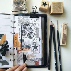 Woche 7 mit Rosenzeichnung zum 14.2. 💗 in meinem Filofax Domino. (Uups, stimmt garnicht, das ist mein neuer Filofax Slimline!) . Habt euch alle lieb! ;) . #woche7 #1402 #filofaxing #filofax #travelernotes #travelersnotebook #washis #washitape #chamilgarden #week7 #planerdekoration #plannernerd #artjournaling #handdrawn #zeichnung #watercolor #kunsttagebuch #midori #stationery #papeterie #paperlover #zeichnen