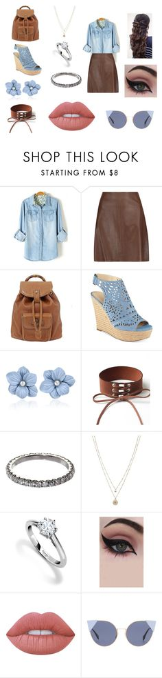 """""""Back to School"""" by hudson-nc on Polyvore featuring Theory, Gucci, Marc Fisher, WithChic, SUSAN FOSTER, LC Lauren Conrad, Asprey, Concrete Minerals, Lime Crime and Fendi"""
