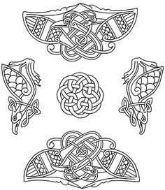Celtic Designs for Artists and Craftspeople CD-ROM and Book 2 by neefer, via Flickr