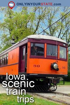 Travel | Iowa | USA | Attractions | Things To Do | Destinations | Trains | Train Ride | Scenic Valley | Railroad | Western Railway | Charles City | Day Trips | Places To Visit | Hidden Gems | Dinner Train | Vintage | Steam Locomotive | Thomas The Train | Iowa Railroad