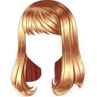 Escova de Festa Loira Manga Hair, Anime Hair, Kawaii Hairstyles, Girl Hairstyles, Anime Neko, Kawaii Anime, Easy Hair Drawings, Drawing Hair Tutorial, Wedding Dress Sketches