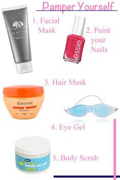 get pampered!