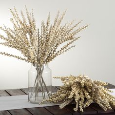 Exotic bud faux branch. These branches add a touch of nature to any room.