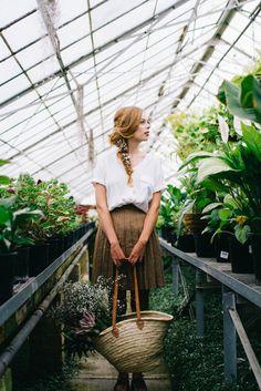 Nadia || Greenhouse styled shoot