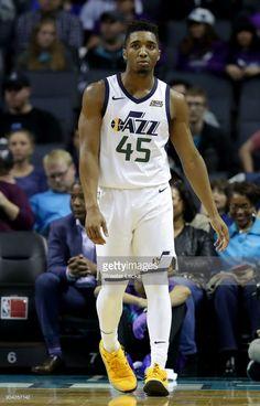 67d5b825313 News Photo   Donovan Mitchell of the Utah Jazz reacts after a... Donovan