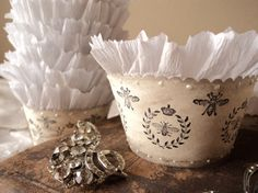 Royale Romance. Twelve Cupcake Holders with by AmongstLovelyThings, $20.00