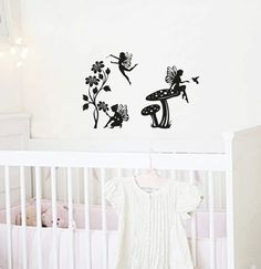 Fairy Land Vinyl Wall Decal Home Decor by ArtJig on Etsy