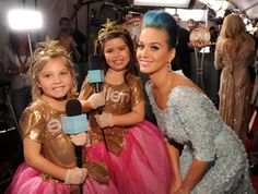 Remember these little gals? Rosie and Sophia Grace - Nicki Minaj's biggest little fans - got some major face time with celebs on the red carpet.