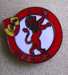 DISTINTIVO SPILLA PIN BADGE CALCIO A.C.R. MESSINA
