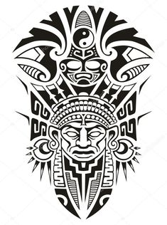 "Képtalálat a következőre: ""inca tattoo"" Mayan Tattoos, Aztec Tribal Tattoos, Aztec Tattoo Designs, Aztec Art, Leg Tattoos, Body Art Tattoos, Sleeve Tattoos, African Tribal Tattoos, Samoan Tribal"