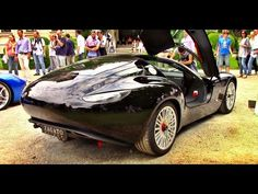 I have filmed this Zagato Mostro powered by Maserati at the 2015 Concorso d'Eleganza Villa d'Este, under the hood we find the famous produced by Ferr. 2015 Maserati, Classy Cars, Fett, Race Cars, Super Cars, Wheels, Concept, Board, Youtube