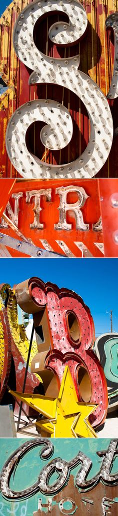 old circus signage.. so beautiful