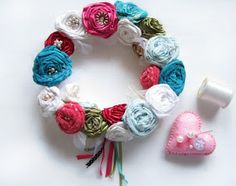 Crafts2Cherish Creative Workshops: Fabric Flower Making Workshop 22nd of January 2013