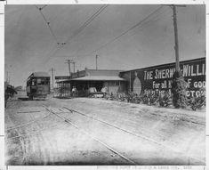 Interurban Depot On Abram Street At Center St Arlington Tx 1912 Utas Arlington Still Image
