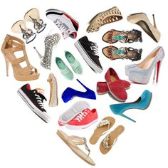 love for shoes!