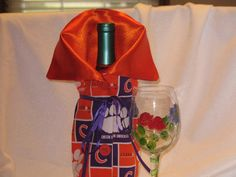 Clemson  Wine bottle Bag / Holder / Cozy by JosieeDesigns on Etsy, $12.00